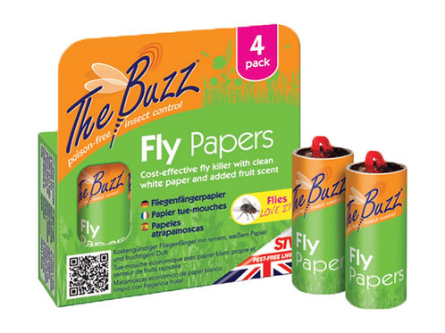 STV The Buzz Fly Papers (4 pack)