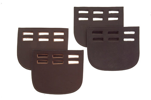 Heritage  English Leather Buckle Guards