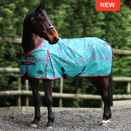 Limited Edition 'Seahorse' Gallop Lightweight Turnout Rug