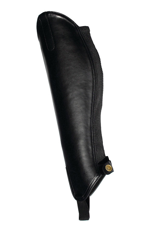 Rhinegold Synthetic Gaiters - Black