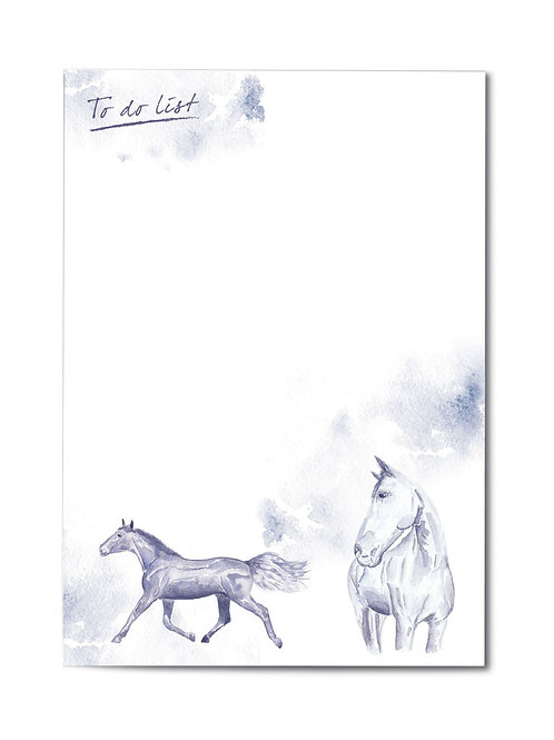 JP Watercolour Collection Equestrian A5 Pad