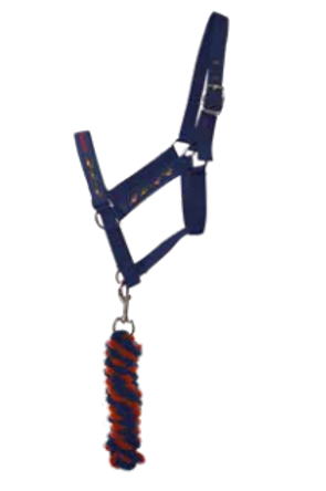 Thelwell Collection Head Collar and Lead Rope