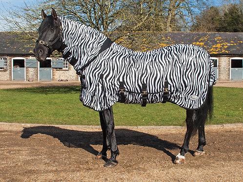 Rhinegold Full Neck Fly Rug - Zebra