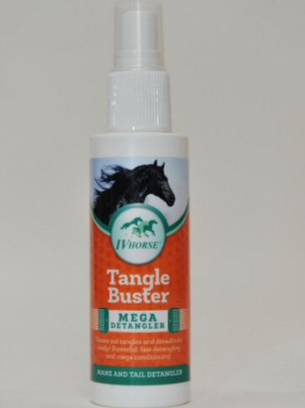 IV Horse Tangle Buster Mega Detangler Pocket Pump Spray