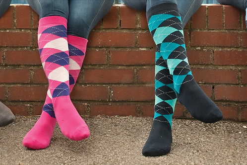 Rhinegold Cool Dry Riding Socks One Size