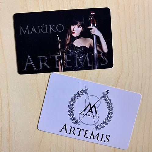 """Album """"Artemis"""" download card"""