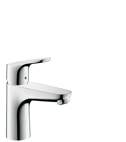 HANSGROHE DECOR BASIN MIXER 100 W/O ROD CHROME