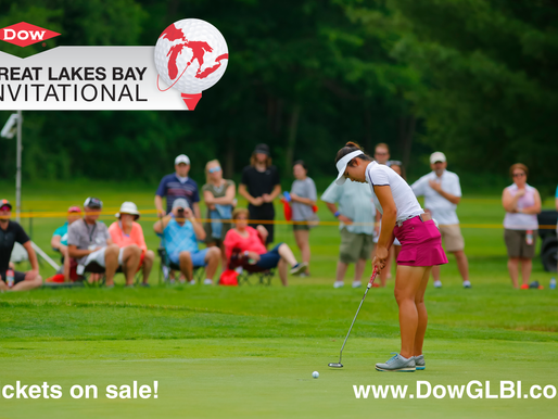 Tickets for the Dow Great Lakes Bay Invitational now available online
