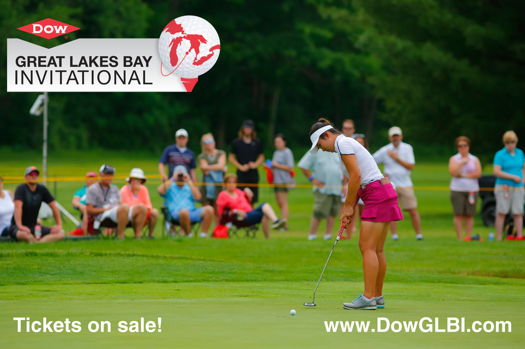 Tickets for the Dow Great Lakes Bay Invitational now