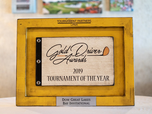 Dow Great Lakes Bay Invitational wins 2019 LPGA Tournament of the Year award