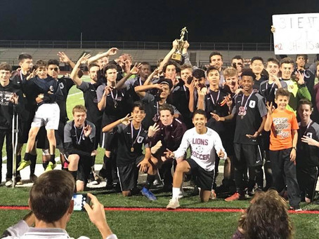 Boys Soccer Tops TCA for Third Straight District 1-1A Title