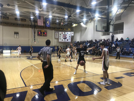 FCA Boys Basketball Rolls Past Plumstead in the PIAA Quarterfinal