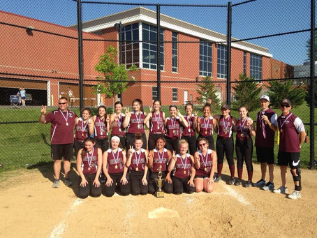 Softball Defends District I Title