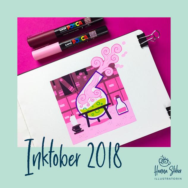 Mein Inktober 2018