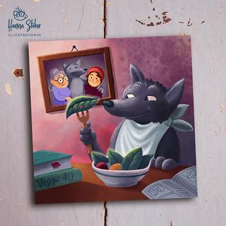 Der vegetarische Wolf