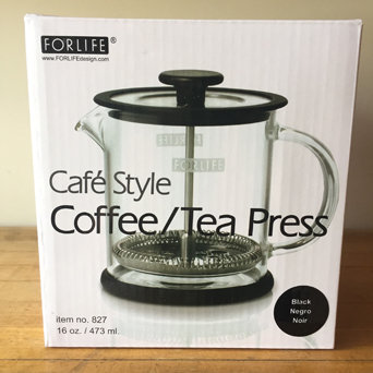 TEA or COFFEE PRESS