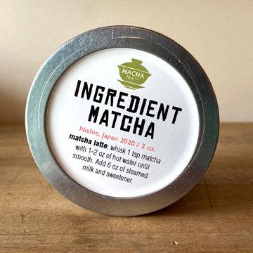 Ingredient Matcha (1 or 2 oz.)