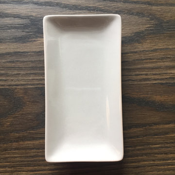 GREY TEA COOKIE PLATES (set of 2)