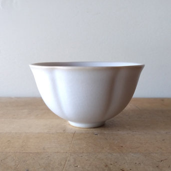 WHITE RUYAO BUTTERCUP TEACUP