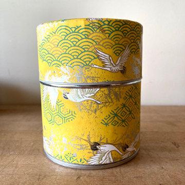 WIDE WASHI TEA TIN (4 designs)
