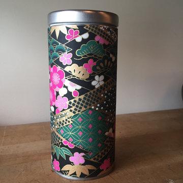 "6"" WASHI TEA TIN (multiple designs)"