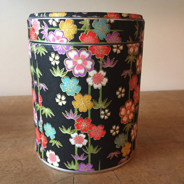 TWIST TOP WASHI TIN - BLOSSOM & BAMBOO