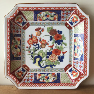 JAPANESE FLORAL PLATE