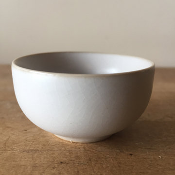 WHITE RUYAO SIMPLE TEACUP