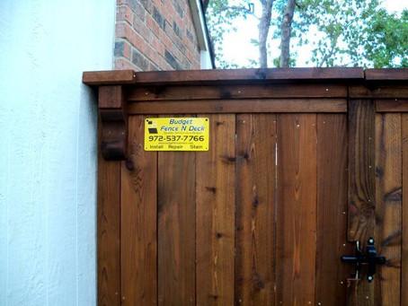 Dallas Fence - Budget Fence N Deck