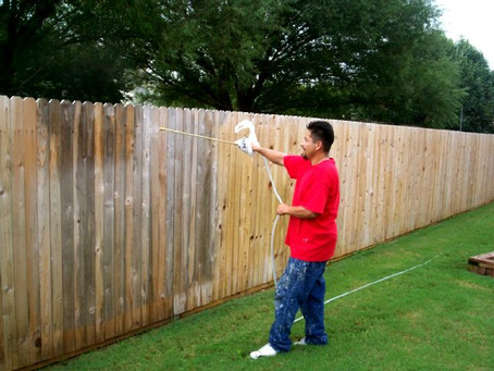 Southlake Fence New Repair Staining