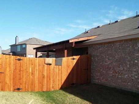 Patio Cover Installation - Oak Point Frisco Little Elm Area