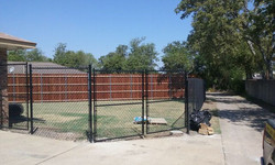 residential chain link