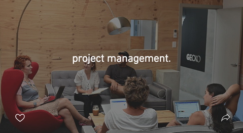project management.
