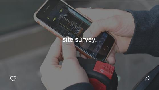 site survey.