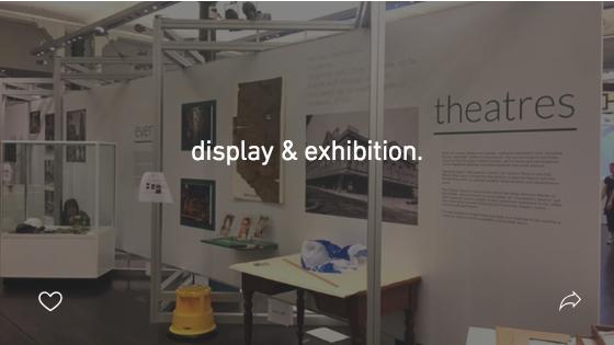 display & exhibition.