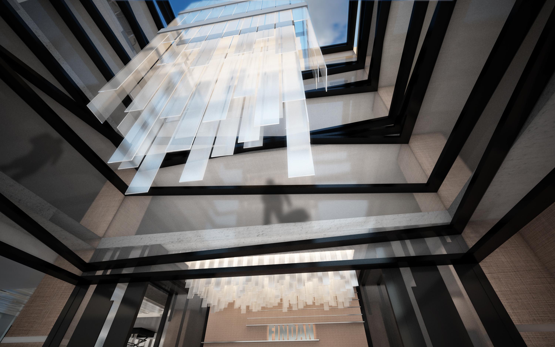 Main Lobby Lighting Fixture