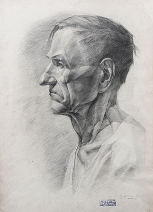 """Kęstutis Grigaliūnas """"Vyro portretas"""""""
