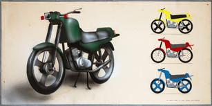 """L. Rimkus """"Motociklas"""""""