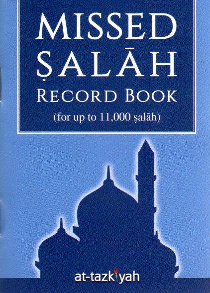 Missed Salah Record Book