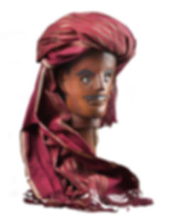 Batak Sigale gale puppet head