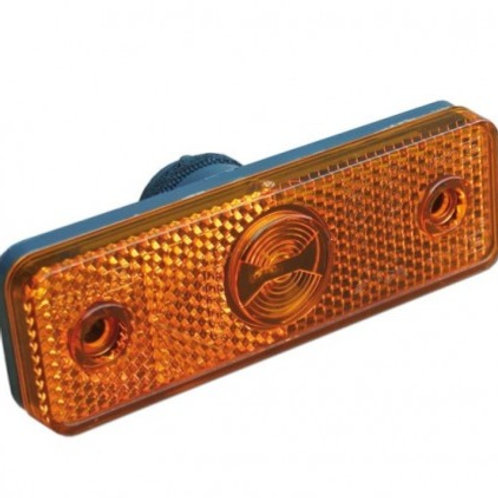 Luce ingombro laterale arancio flatpoint