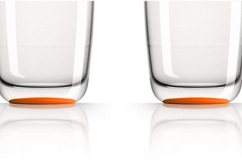 Bicchieri Bassi Arancioni 285 Ml