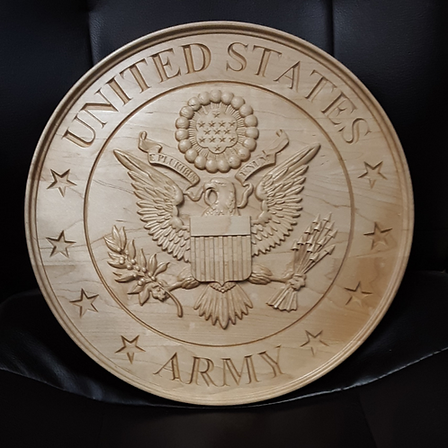 Military Service Plaque - U.S. Army