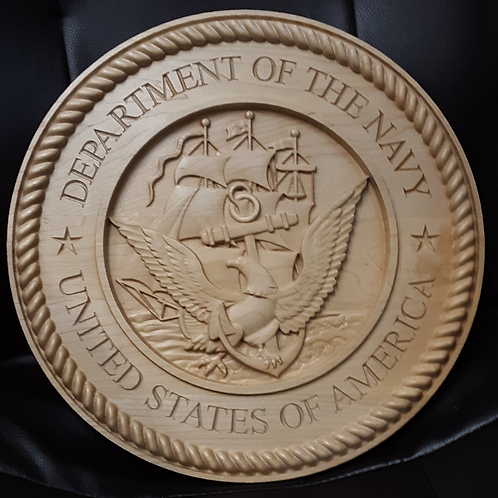 Military Service Plaque - U.S. Navy