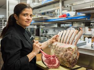 Steakcraft: Alex Guarnaschelli's 40oz Rib Steak at Butter