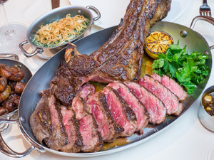 How the Rib Steak for Two Ate Manhattan