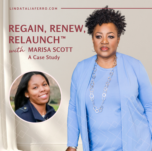 Regain, Renew, Relaunch with Marisa Scott