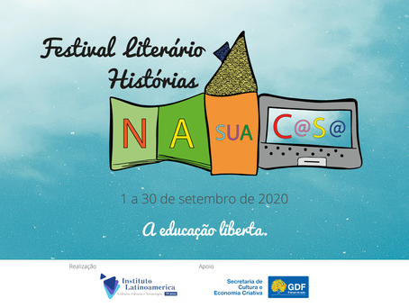 Festival Literário Histórias na Sua Casa