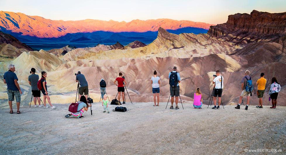 Zabriskie Point im Death Valley National Park
