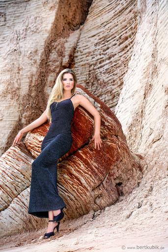 Blue Canyon - Navajo County in Arizona mit Aline